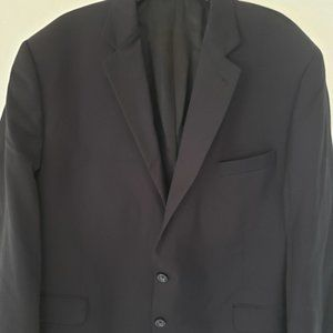 Men's Black Stafford Sport Coat 50R